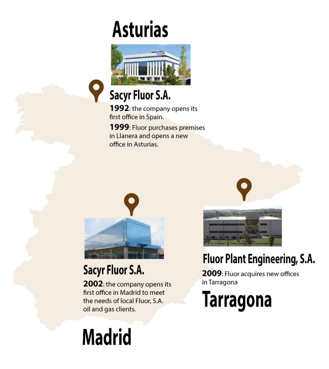 Sacyr Fluor, with headquarters in Asturias, is a leader in the