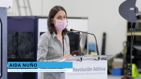 Aida Nuño Industrial Scale Additive Manufacturing Forum by TRIDITIVE