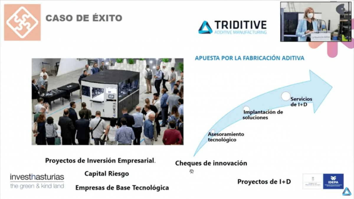 Eva Pando IDEPA Industrial Scale Additive Manufacturing Forum by TRIDITIVE