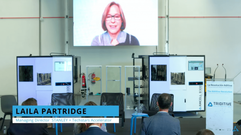 Laila Partridge Industrial Scale Additive Manufacturing Forum by TRIDITIVE