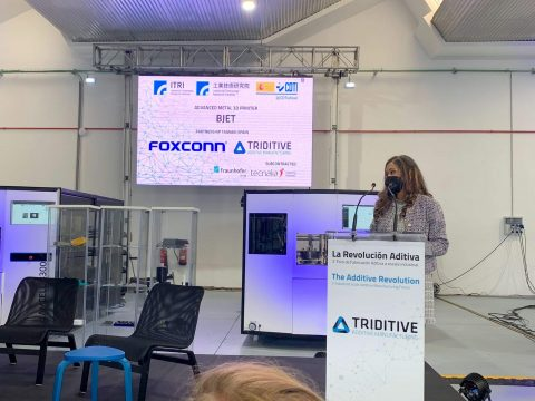 TRIDITIVE FOXCONN Industrial Scale Additive Manufacturing Forum